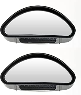 Auxilary Wide-Angle Side-View Mirror (Pack of 2)