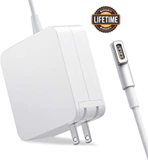 Compatible with Mac Book Air Charger, 45W Magsafe 1 L-Tip Power Adapter Magnetic Connector Charger for Mac Book and 13-inch Mac Book Pro(Before Mid 2012)