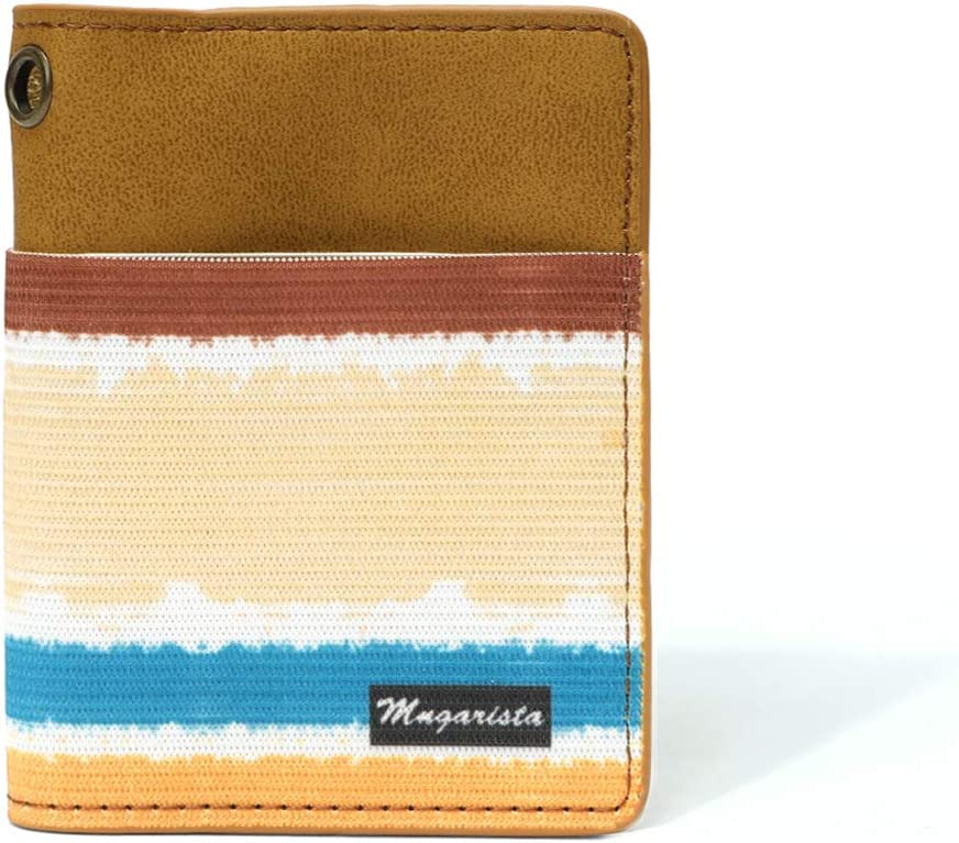 Minimalist Card Case Wallet, Elastic Credit Card Holder