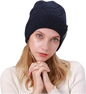 Beanie Hat for Men Women, BCDlily Unisex Warm Winter Casual Knitted Skullcap Wool Ski Hat