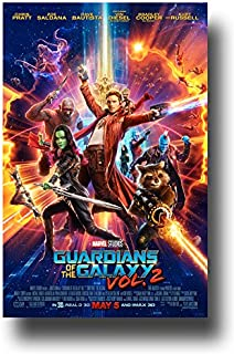 Guardians Of The Galaxy Vol 2 Poster - 2017 Movie Volume Chris Pratt Main