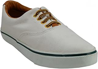 Easy USA Women's Lace Up Classic Canvas Deck Boat Shoes