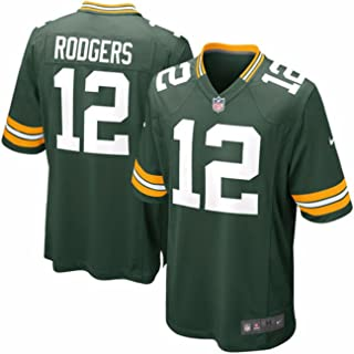 Nike Green Bay Packers Aaron Rodgers NFL Youth Green On-Field Home Jersey (Size Small 8)