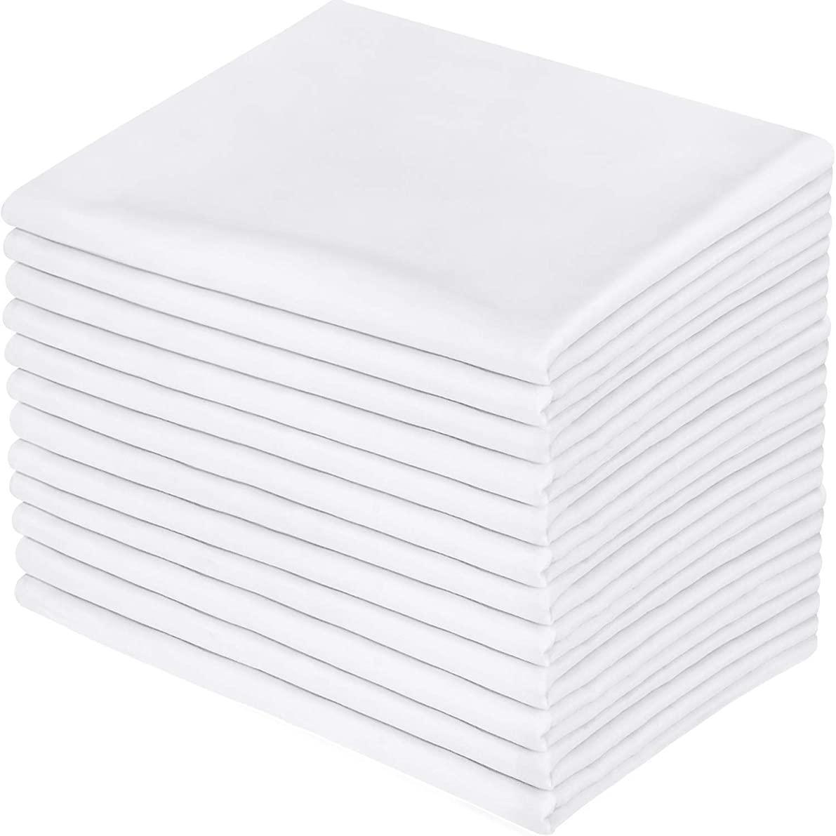 Utopia Bedding 12 Pillowcases - Brushed Microfiber Pillow Cover - Queen White oddzjoo62