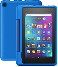 """Fire 7 Kids Pro tablet, 7"""" display, ages 6+, 16 GB, Sky Blue"""