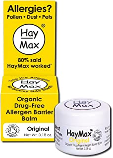 Haymax Allergen Barrier Balm, Original, 0.18 Ounce