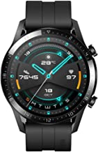 HUAWEI Watch GT 2 (46 mm) Smart Watch, 1.39 Inch AMOLED Display with 3D Glass Screen, 2 Weeks Battery Life, GPS, 15 Sport Modes, 3D Glass Screen, Bluetooth Calling Smartwatch, Matte Black