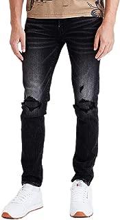 American Eagle Mens 4857038 Ne(x) t Level Skinny Jean, Destroyed Black