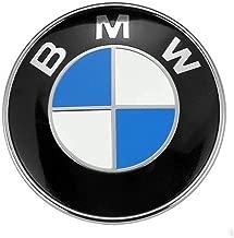 BMW Emblem Hood and Trunk 82mm 3.2 inch Badge Logo Replacement for ALL Models BMW E30 E36 E46 E34 E39 E60 E65 E38 X3 X5 X6 3 4 5 6 7 8