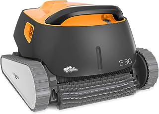 Maytronics - Robot Limpiafondos Dolphin E30 eléctrico, Negro, gris y naranja