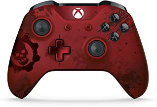 Xbox Wireless Controller - Gears of War 4 Crimson Omen Limited Edition (Renewed)
