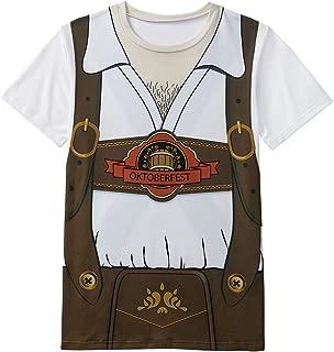 Men's Bavarian Oktoberfest Costume T-Shirts