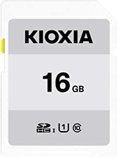キオクシア(KIOXIA) 旧東芝メモリ SDHCカード 16GB UHS-I対応 Class10 (最大転送速度50MB/s) 日本製 国内正規品 3年保証 Amazon.co.jpモデル KTHN-NW016G