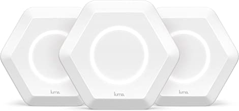 Luma Whole Home Wireless Router 3 Pack - Replaces Wi-Fi Extenders Routers, Free Virus Blocking, Free Parental Controls, Gigabit Speed, Dual Band, White (Renewed)