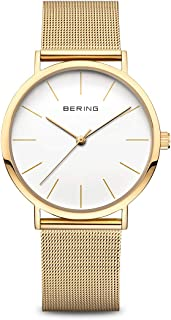 BERING Unisex Adult Analogue Quartz Watch with Stainless Steel Strap