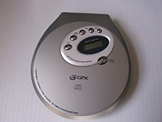 GPX Compact Disc Player with Deluxe Stereo Headphones - 24 Track - CD-R CD-RW Compatible