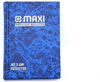 Maxi Register Book A7 2QR