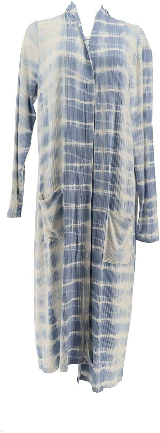 Lisa Rinna Collection Tie Dye Duster Cardigan A353571