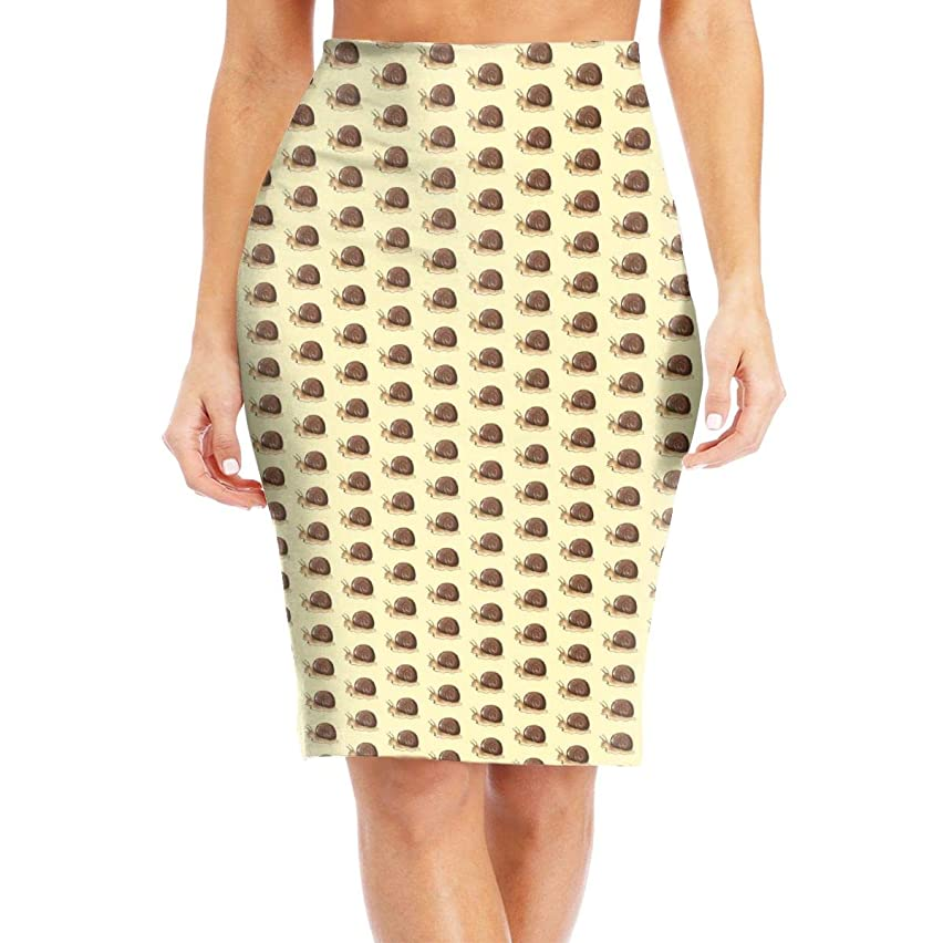 Grey Snail Womena€?s Pencil Skirt Below The Knee Pencil Skirt Printed Stretch Office Pencil Skirt for Any Occasion