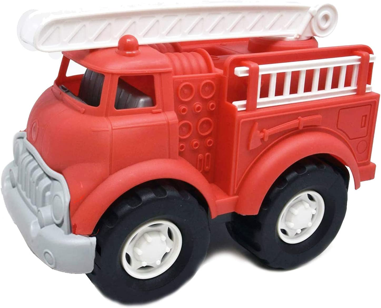 Big Louisville-Jefferson County Mall Oklahoma City Mall Plastic Toy Fire Truck for Girls Boys Toddlers Fir and Red