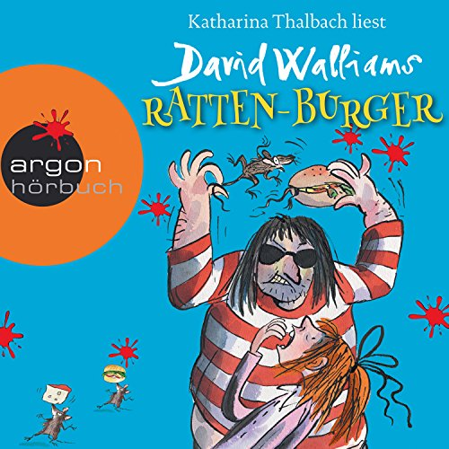 Ratten-Burger Audiobook By David Walliams cover art