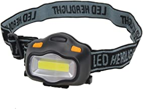 Zwart en wit, waterdicht, zeer helder, 12 leds, hoofdlamp, 3 modi voor kamperen in de open lucht.