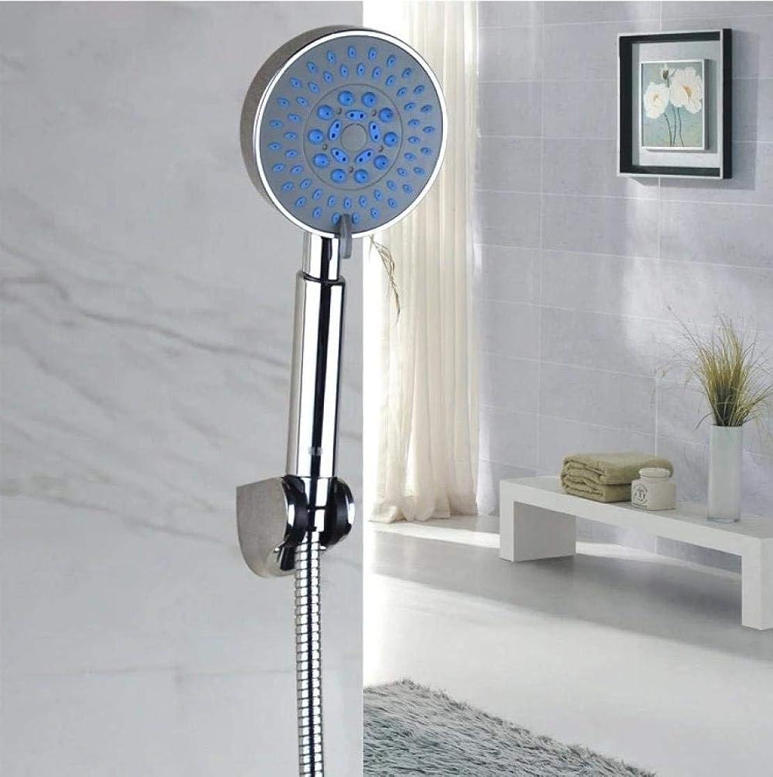 ペルー疑い者動かないシャワーヘッド 取り付け簡単 ハンドシャワーシャワーヘッドビデファイブシャワー多機能手持ちシャワーヘッドシャワーコロンス島スーパーチャージャー