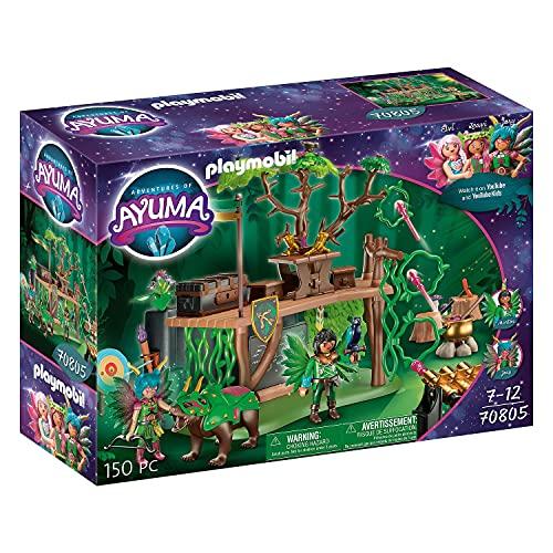 PLAYMOBIL Adventures of Ayuma 70805 Campamento de Entrenamiento, A Partir de 7...