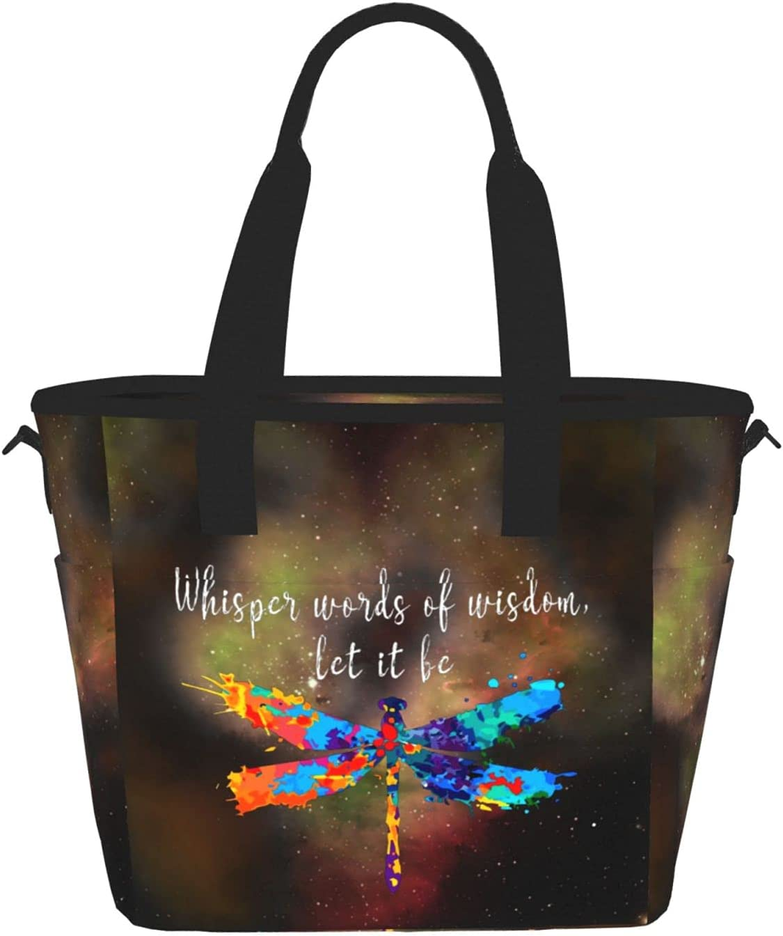 Whisper Words Of Wisdom Let It Be W Ranking TOP8 For Large Durable store Lunch Bags