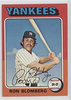 ron blomberg baseball card