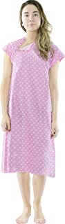 Utopia Care Hospital Gown 1 Pack - Patient Gown - Maternity Gown with Breastfeeding Support