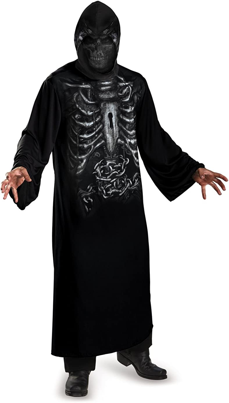Bargain sale Disguise Men's Reaper Hooded Robe Print Attention brand Costume