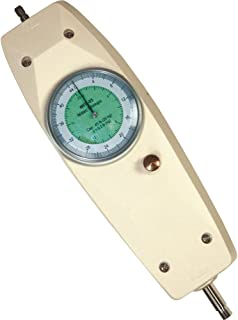 Shimpo MFD-06 Dual Scale Mechanical Force Gauge, Live and Peak Load Modes, 110 lb Capacity