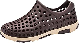 Men's Leisure Flats Beach Shoes Sea Non-slip Breathable Hole Shoes Sandal