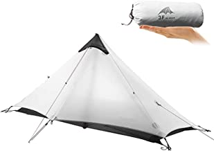 KIKILIVE Ultralight Tent 3-Season Backpacking Tent for 1-Person or 2-Person Camping, New LanShan Outdoor Camping Tent Shel...