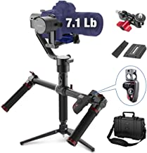MOZA Air 3-Axis Gimbal Stabilizer for DSLR and Mirrorless Camera, with Moza Thumb Controller and Dual Handle, Auto-Tuning Mimic Control, i.e. Sony A7, Panasonic GH5, Canon 5D