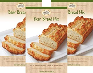 Beer Bread Mix by Little Big Farm Foods - Hearty, Mouthwatering Bread Mix That's So Easy to Make - No Bread Machine Needed...
