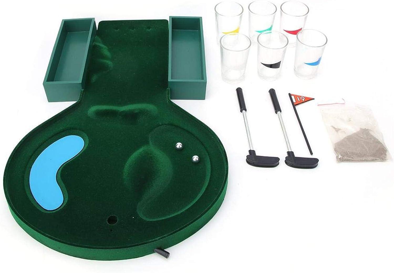 Qiilu Tabletop Golf Game Entertainment Gol Set Desktop Animer and price revision Sale price