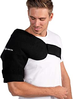 "Shoulder Gel Ice Cold Pack for Shoulder - Hot Cold Compress for Rotator Cuff, Rheumatoid Arthritis, Bursitis, Osteoarthritis,Tendinitis, AC Joint Pain Relief and More - 16""x 20"""