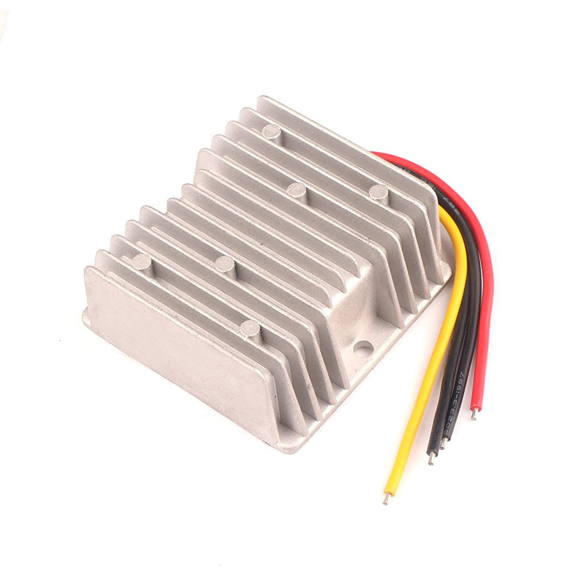 DROK DC-DC 37-60V 48V to 24V Buck Regulator 5A 120W Waterproof Step-Down Volt Converter Power Supply with Aluminum Shell for Electric Fan Audio System Automotive