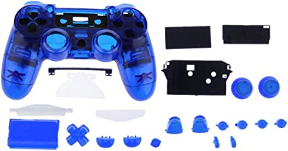 Prettyia Protective Full Housing Shell Case W/ Buttons Cover Kits For PS4 Controller