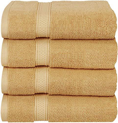 Utopia Towels Luxus-Badetücher, 4er-Pack, 68 x 137 cm, Hotel- und Spa-Handtücher