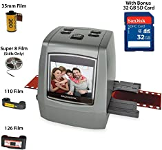 Magnasonic All-in-One High Resolution 22MP Film Scanner, Vibrant 2.4