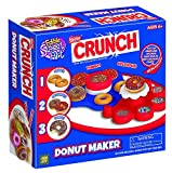 Crunch Donut Maker - Fun for Group Activity - Easy to Make & Fun To Decorate - Perfect Birthday Party Activity & Sleepovers - Great Present For Young Donuts Lovers - For Kids Aged 6+