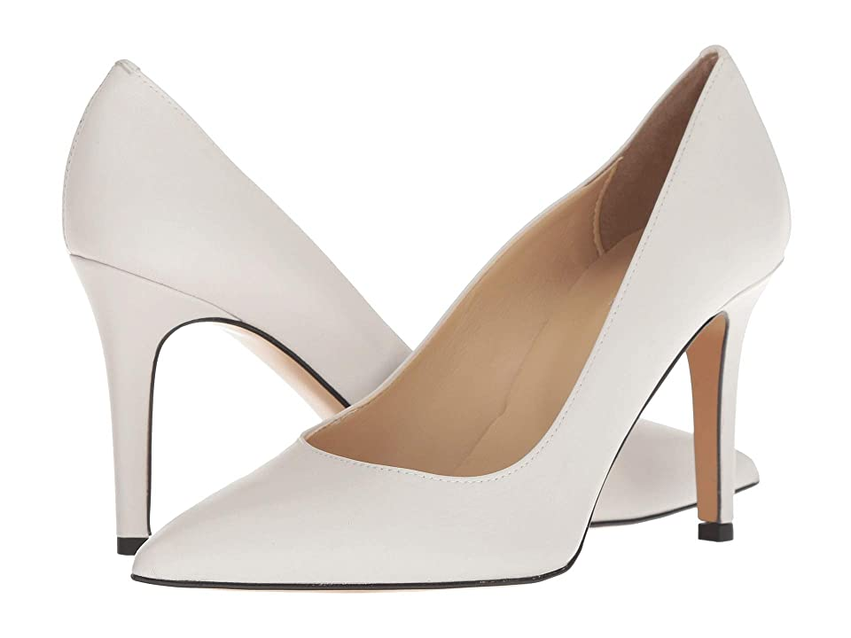 Summit by White Mountain Melissa Heel (Winter White Leather) High Heels