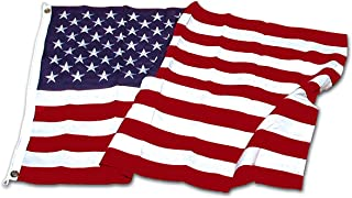 Super Tough 3ft x 5ft Polyester American Flag-US Made, Red, White, Blue
