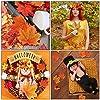 K KUMEED Little Pumpkin Party Decorations, Little Pumpkin Banner Fall Leaves Pumpkin Cake Topper Latex Balloons for Fall Theme Baby Shower Party Supplies #5