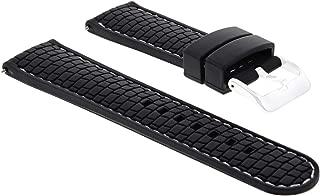 22MM RUBBER DIVER STRAP FOR SEIKO SRP777 SRP775 SRP773 SRP779 6309 BLACK WS