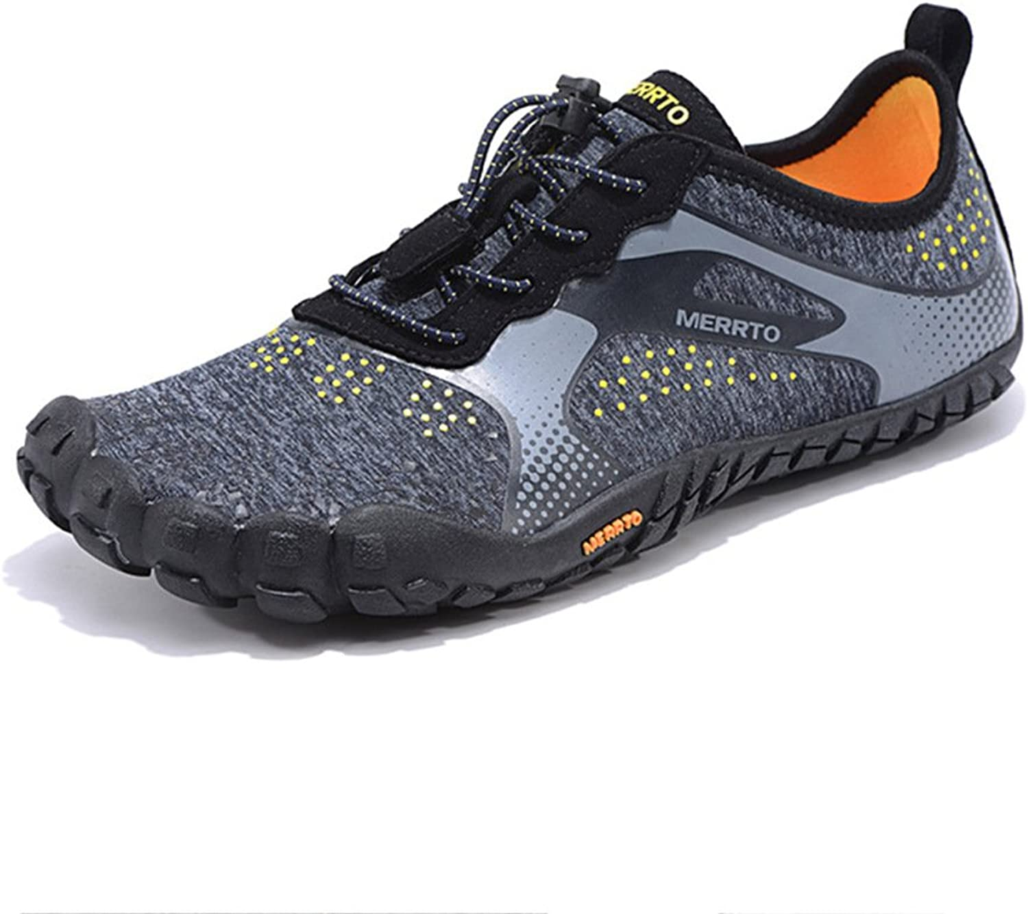 Hiking shoes Men Waterproof Black Lightweight Outdoor Breathable Wearable Fitness Running Mountain Climbing