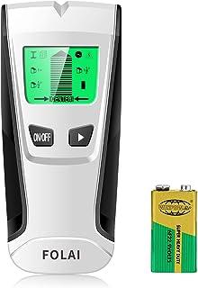 FOLAI 下地探し 下地センサー 壁うらセンサー デジタル探知機 一台三役 金属 AC電源 木材探知 オートオフ 日本語説明書対応